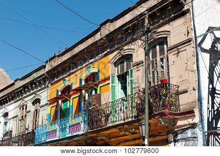 La Boca, Colorful Neighborhood, Buenos Aires Argentine