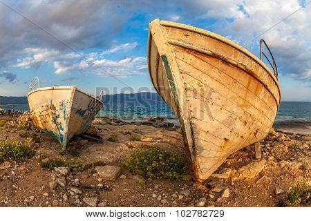 Abandoned Boats