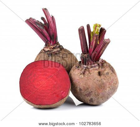 Beetroot On White Background