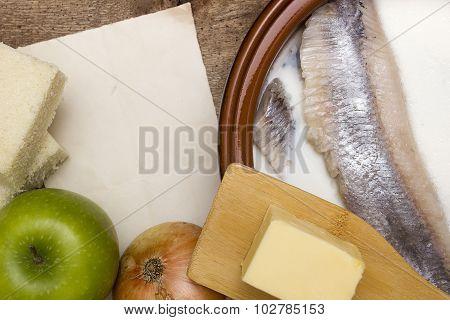 Basic Ingredients For Forshmak
