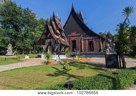 Baan Dam, Museum of Art in Chiang rai, thailand.