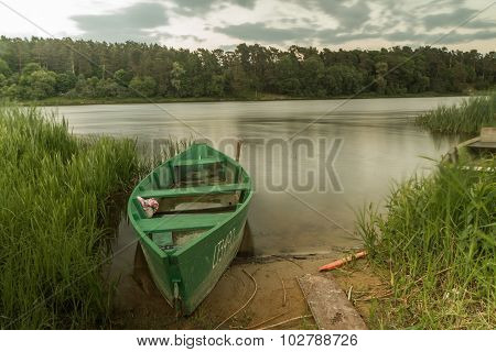 Boat In Evening