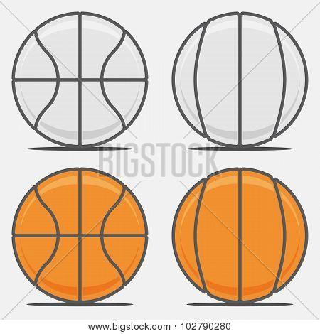 Basketball Balls for your Team Logo