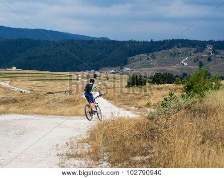 Mountain Biking In Bulgaria.
