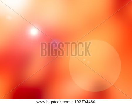 Red Blur Background