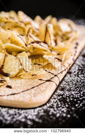 Banana Chip Snack / Banana Chip / Banana Chip Snack For Tea
