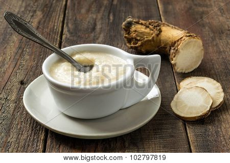 Pungent Spice Prepared Of Horseradish