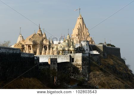 Jain Temple In Palitana, India