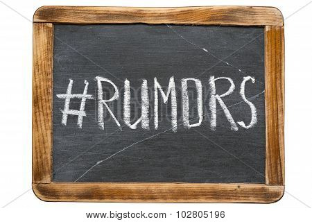 Rumors Tag