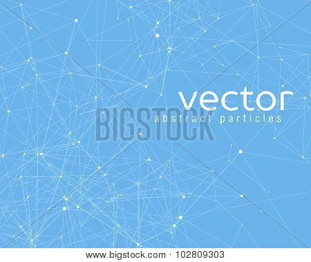 Vector Element Of Cybernetic Particles