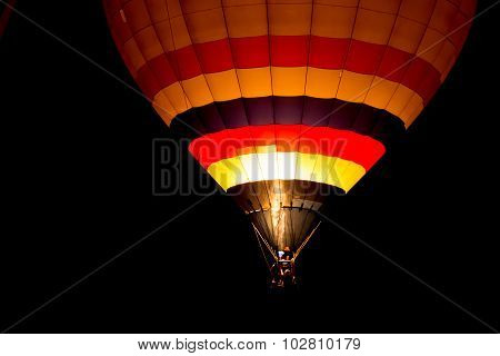 Air Balloon At Night