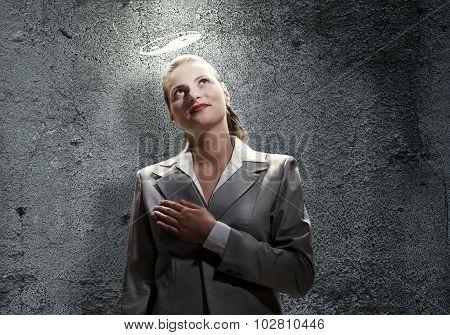 Saint businesswoman