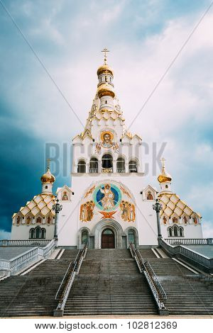 Minsk memorial church of All Saints and in memory of the victims