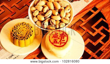 Traditional Chinese Food: Moon Cakes