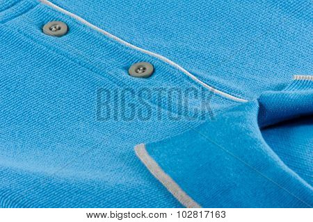 New Men's Polo T-shirt In Blue Color