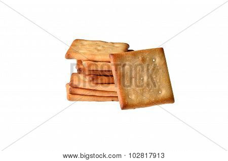 Square crackers