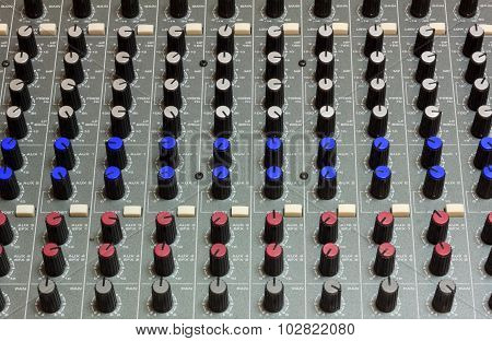 Sound Mixer Background.