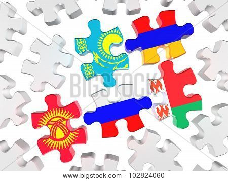 Symbol Of The Eurasian Customs Union