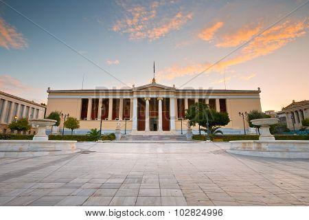 National & Kapodistrian University of Athens.