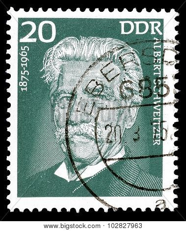Albert Schweitzer 1975