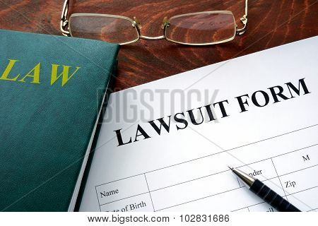 Lawsuit form