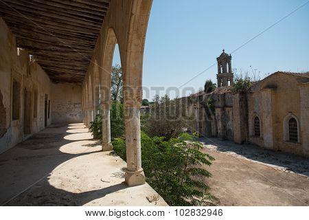Abandoned Orthodox Monastery Of Saint Panteleimon In Cyprus