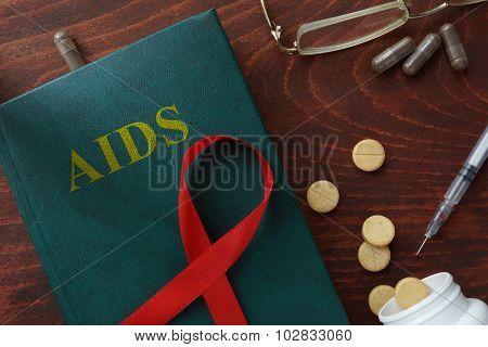Aids hiv concept.