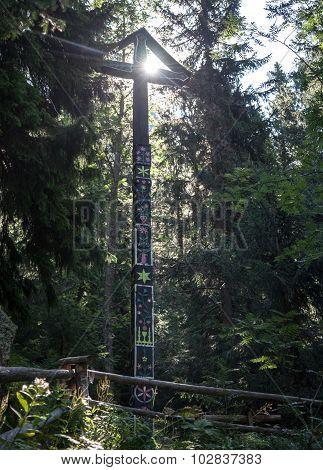 Symbolic Cemetery In High Tatras, Slovakia