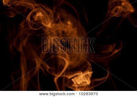 Orange Smoke Haze