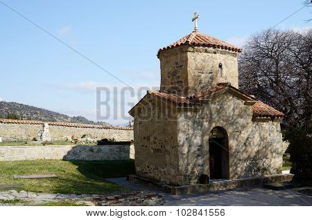 St. Nino Church At Samtavro Monastery In Mtskheta, Ancient Capital,One Of Oldest Cities Of Georgia