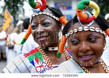 Nigerianischen Mädchen