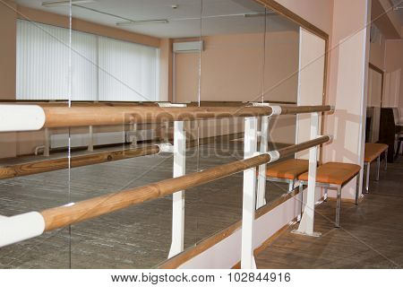 Empty Dance Class