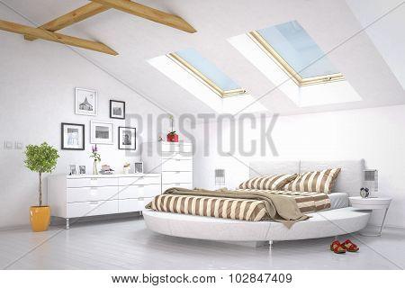 Modern Bedroom - Loft