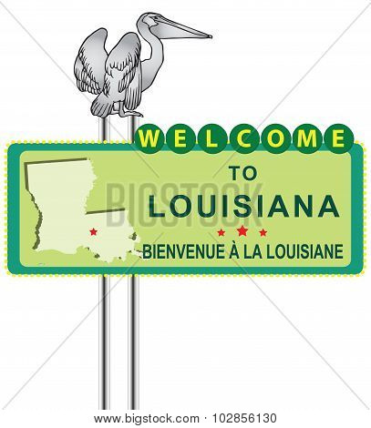 Stand Welcome To Louisiana