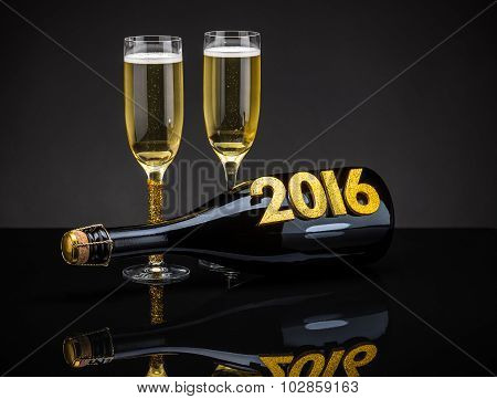 New Year Concept 2016