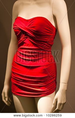 Mannequin In Red