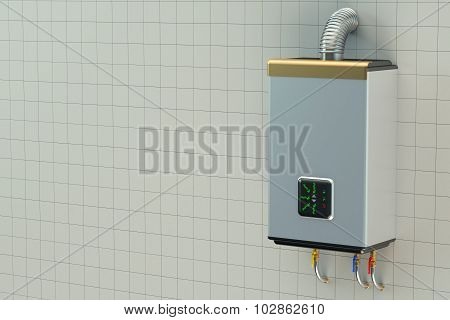Home Gas Boiler,  Water Heater