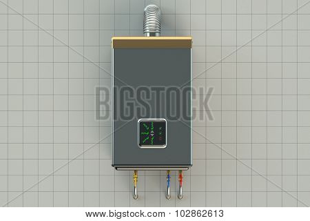 Home Gas-fired Boiler, Water Heater