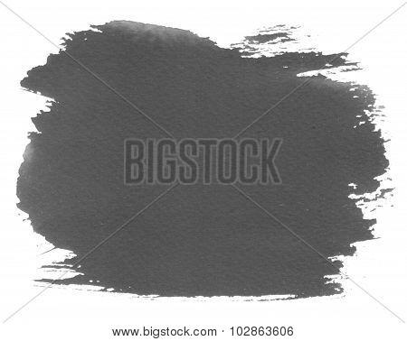 Grey Watercolour Blotch Stain