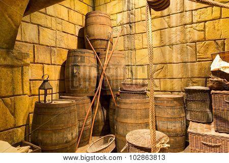 Old lumber-room