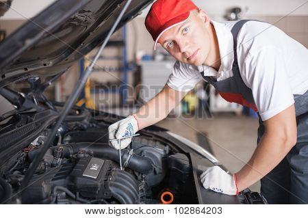 Portrait Of An Auto Mechanic