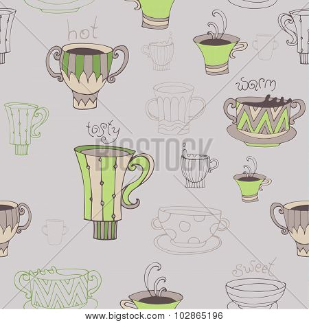 Seamless Coffee Background