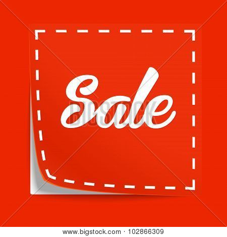Coupon with Sale tag