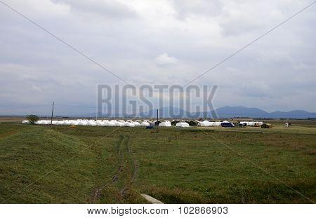 Romania Refugee Camp