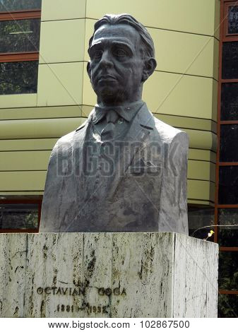 Bust Sculpture Of Octavian Goga