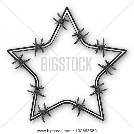 Star With Barbed Wire