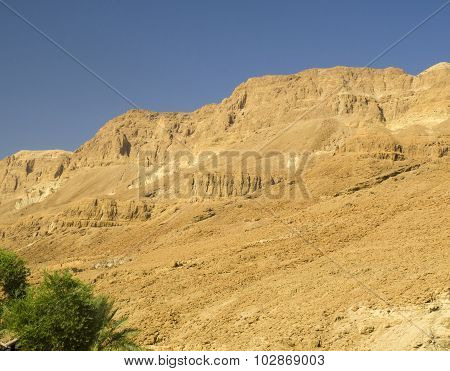Mountains In Judean Desert