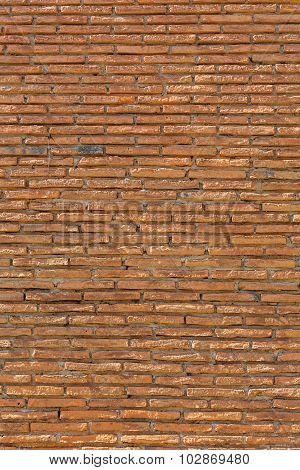 Old brick wall texture ancient constuction brickwork
