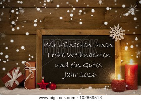 Board, Snowflake, Weihnachten, Jahr 2016 Mean Christmas New Year