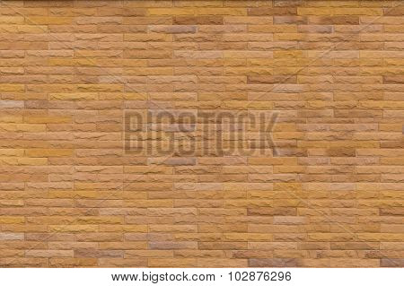 Patten design stone brick wall